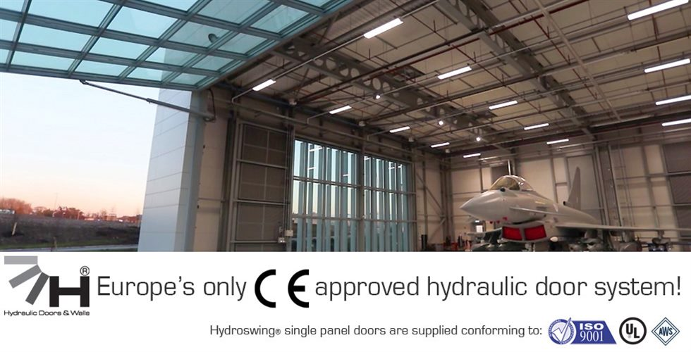 europe british aerospace glass hydroswing hydraulic door