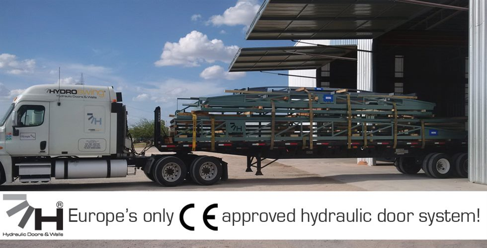 europe hydraulic door ce certified