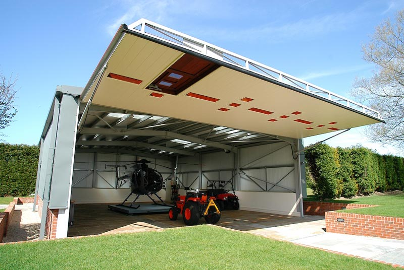 hydroswing aircraft hangar doors performance aircraft piper