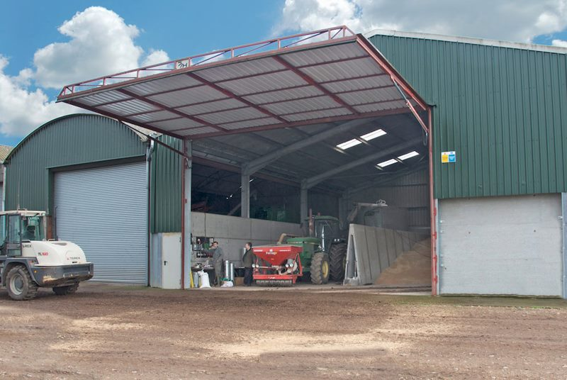 hydroswing europe uk agricultural grain storage hydraulic door