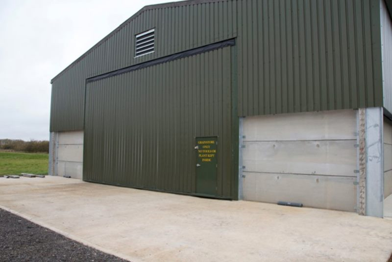 hydroswing europe uk agricultural industrial building door