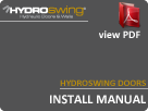 Hydroswing Doors Install Manual